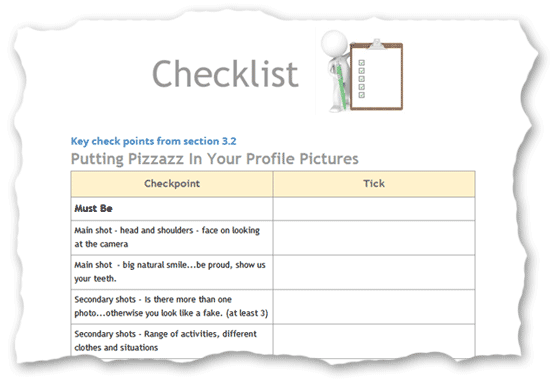 Dating checklist for guys